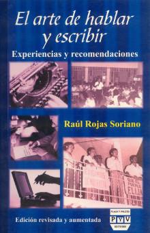portada libro El arte de hablar y escribir raúl rojas soriano