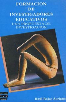 portada libro Formación de investigadores educativos raúl rojas soriano