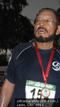 raul rojas soriano maraton cansado