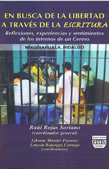 portada libro En busca de la libertad a través de la escritura raúl rojas soriano