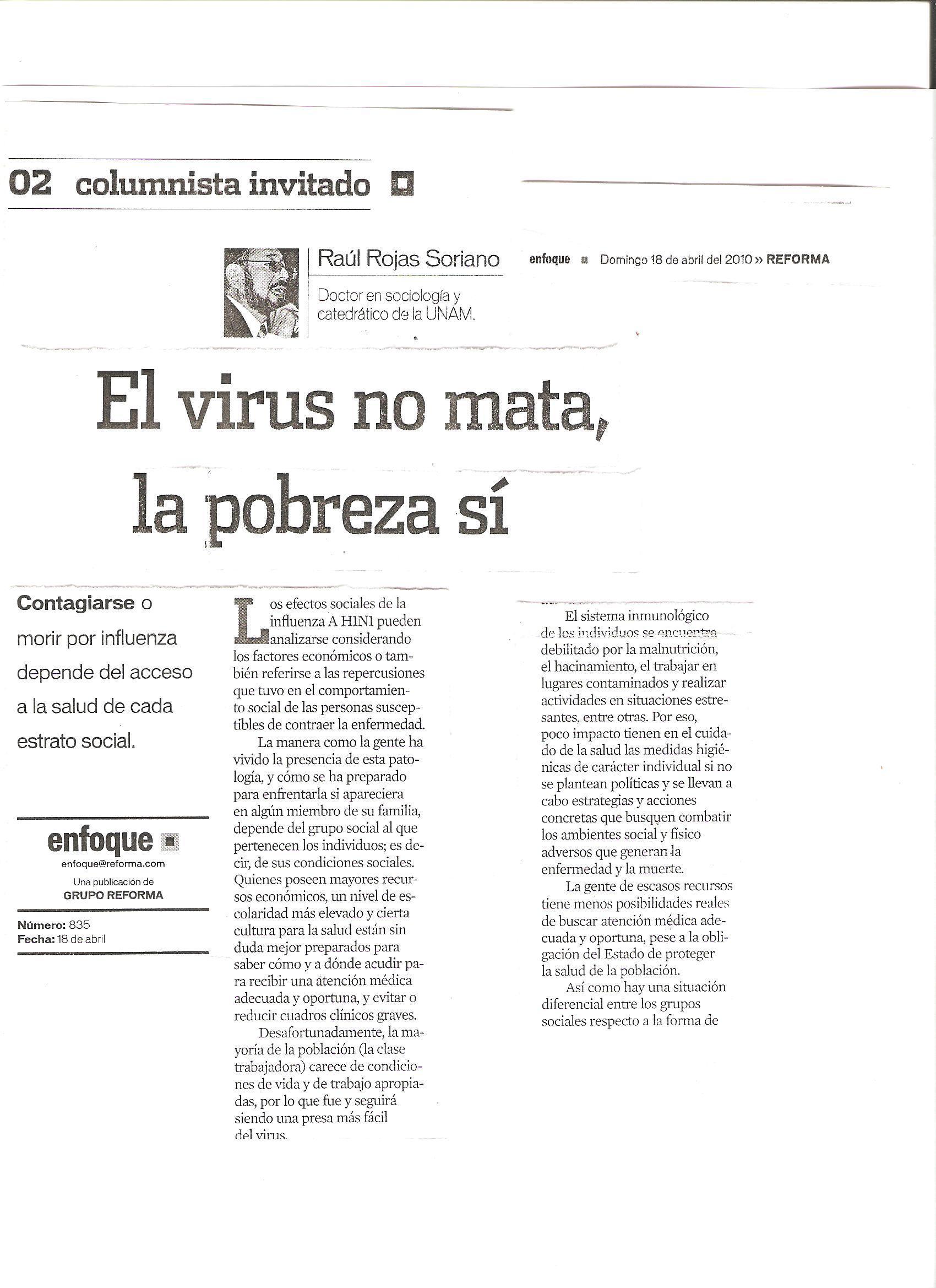Presencia en periódicos y revistas de México y de otros países | Dr ...